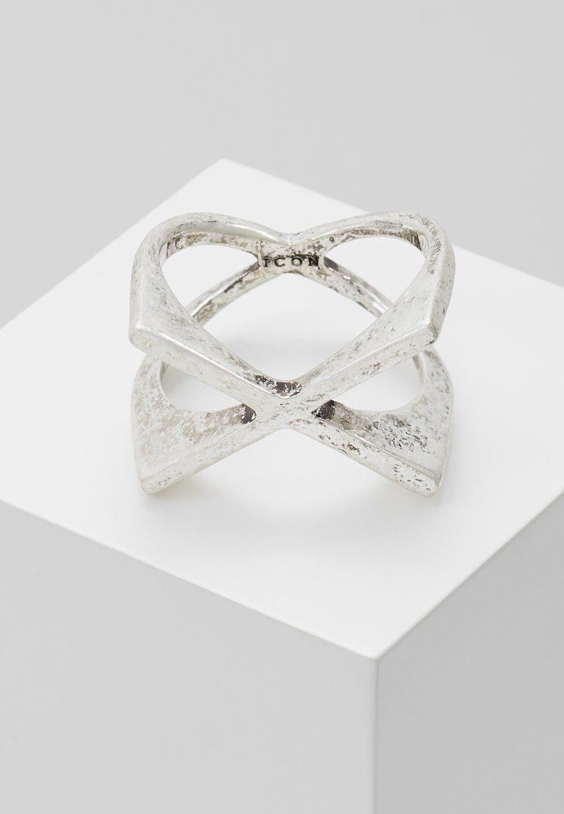 Icon Brand - XAGON - Ring - silver-coloured