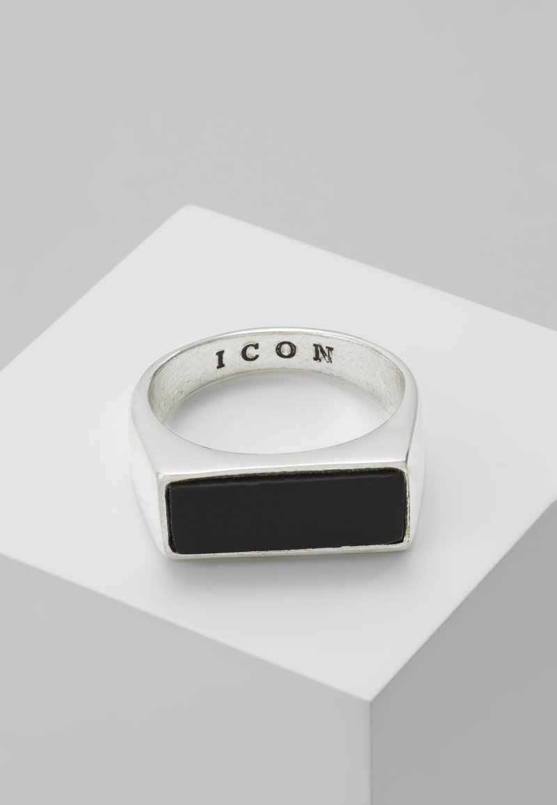 Icon Brand - ABANDON SIGNET - Prsten - silver-coloured