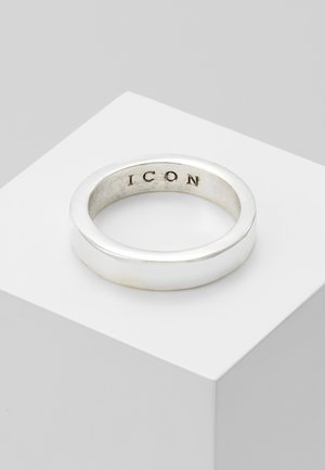 FLAT OUT BAND - Ring - silver-coloured