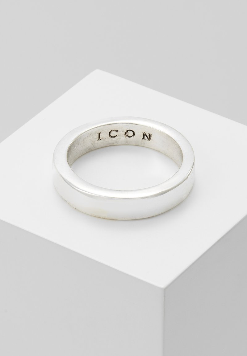 Icon Brand - FLAT OUT BAND - Ring - silver-coloured