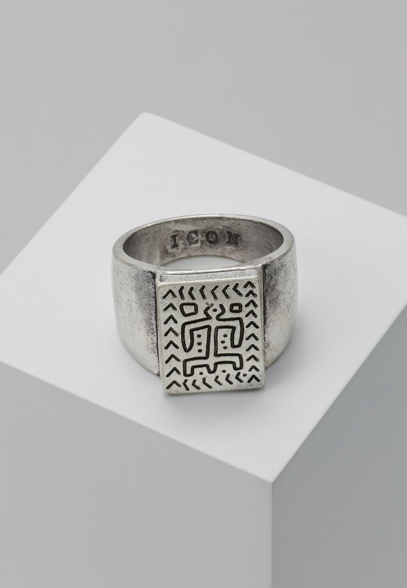Icon Brand - DYULA SIGNET - Ring - burnished silver-coloured