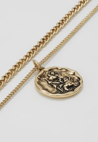 Icon Brand - TWO ROW NECKLACE - Necklace - antique gold-coloured - 4