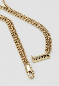 Icon Brand - TWO ROW NECKLACE - Necklace - antique gold-coloured - 2