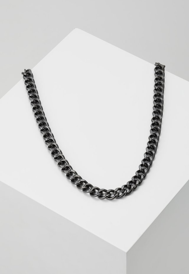 CHUNKY CHAIN NECKLACE - Collier - gun
