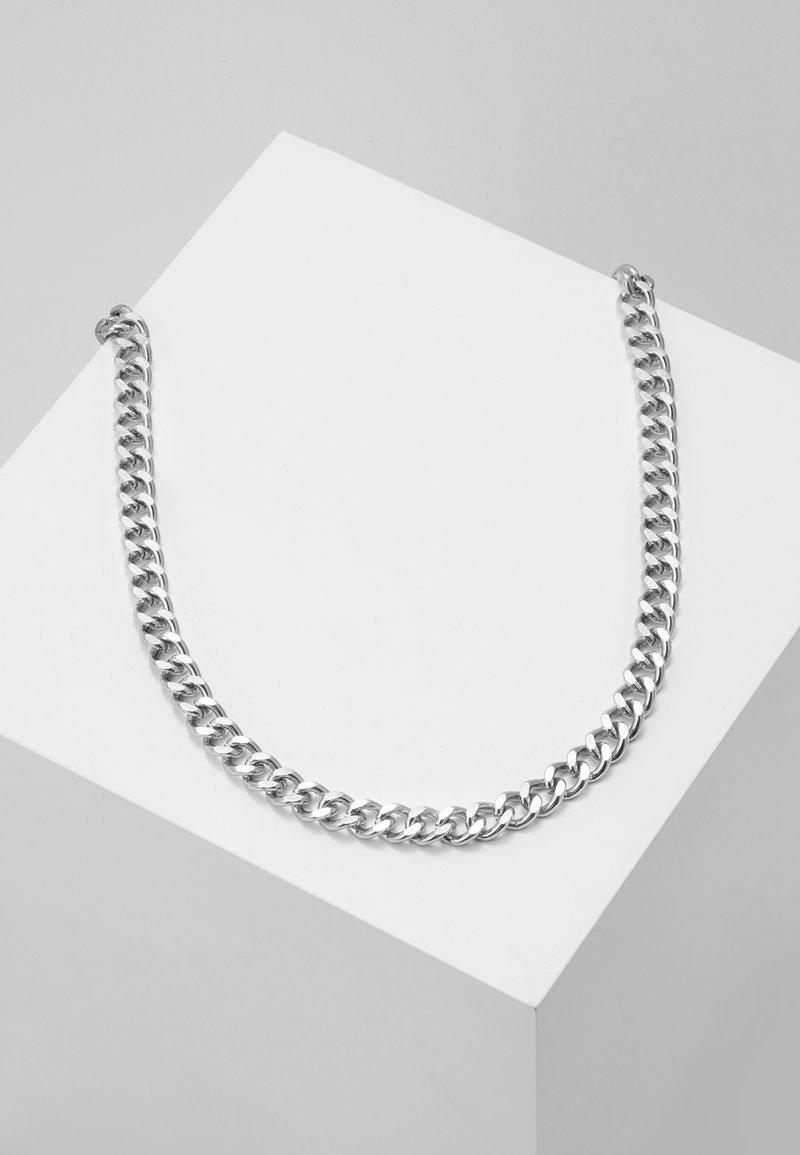 Icon Brand - CHUNKY CHAIN NECKLACE - Collana - silver-coloured