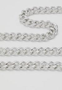 Icon Brand - CHUNKY CHAIN NECKLACE - Collana - silver-coloured - 4