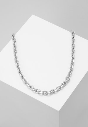 CHUNKY CHAIN NECKLACE - Halskette - antique silver-coloured