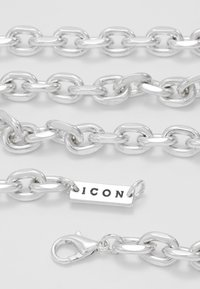 Icon Brand - CHUNKY CHAIN NECKLACE - Halskette - antique silver-coloured - 2
