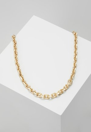 CHUNKY CHAIN NECKLACE - Collana - antique gold-coloured