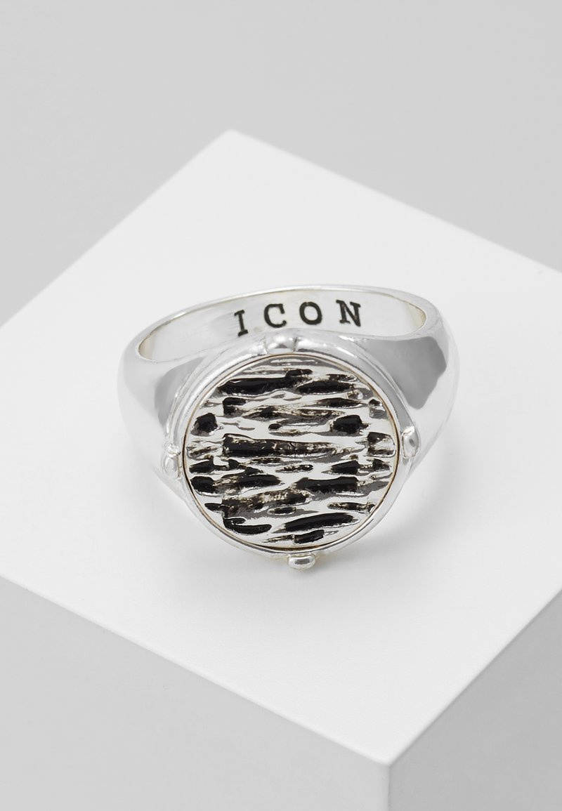 Icon Brand - RIPPLE SIGNET - Sormus - silver-coloured