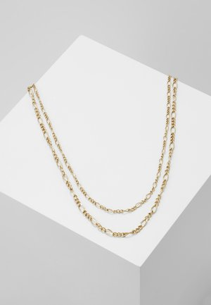 TWO ROW CHAIN - Ketting - gold-coloured
