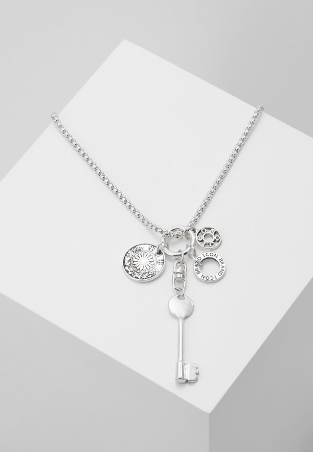 TROOPADOR NECKLACE - Halsband - silver-coloured