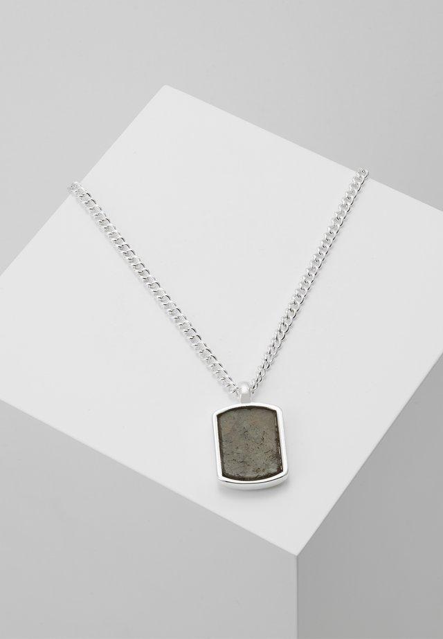 MANTLE NECKLACE - Halsband - antique silver-coloured