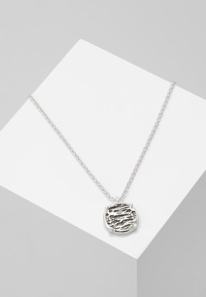 RIPPLE PENDANT NECKLACE - Kaulakoru - silver-coloued