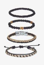 EDWARDS COMBO 4PACK - Bracelet - beige/black