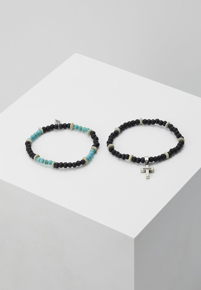 TRINITY COMBO 2 PACK - Bracelet - black