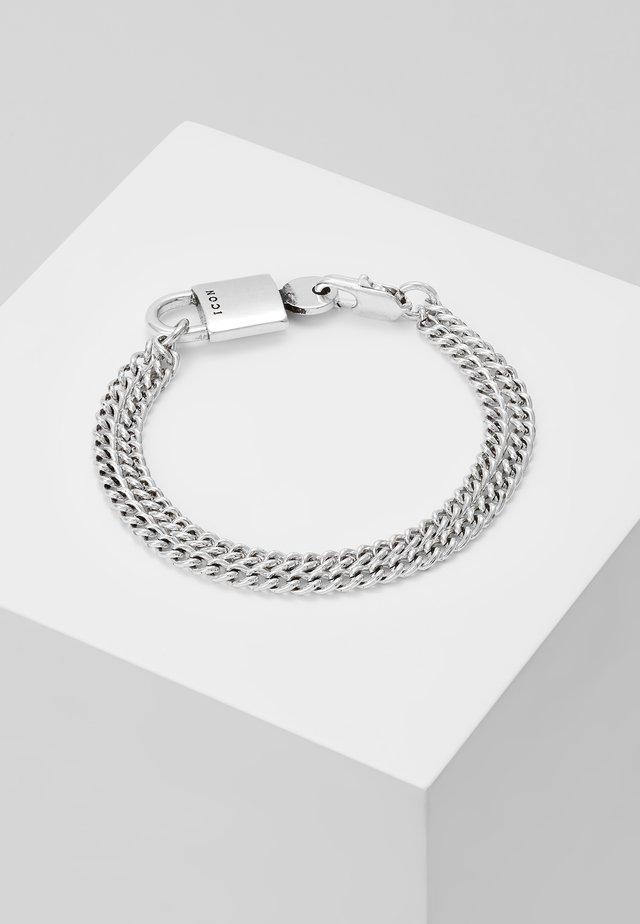 DISORIENTATE BRACELET - Bracciale - silver-coloured
