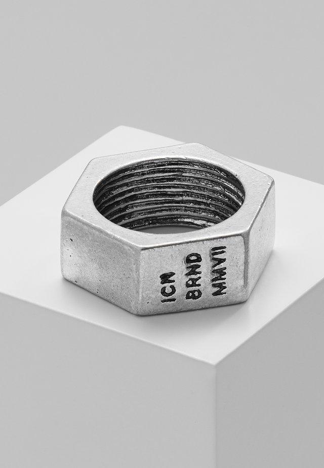 CONVEYOR - Prsten - silver-coloured