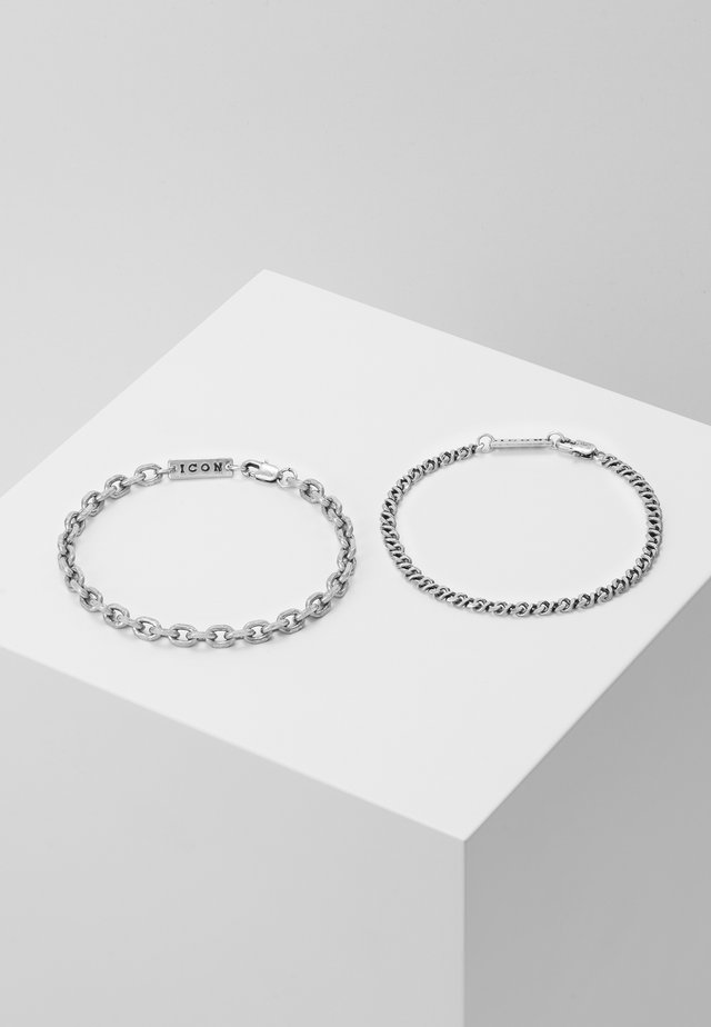 GRAHAM COMBO 2 PACK  - Bracciale - silver-coloured
