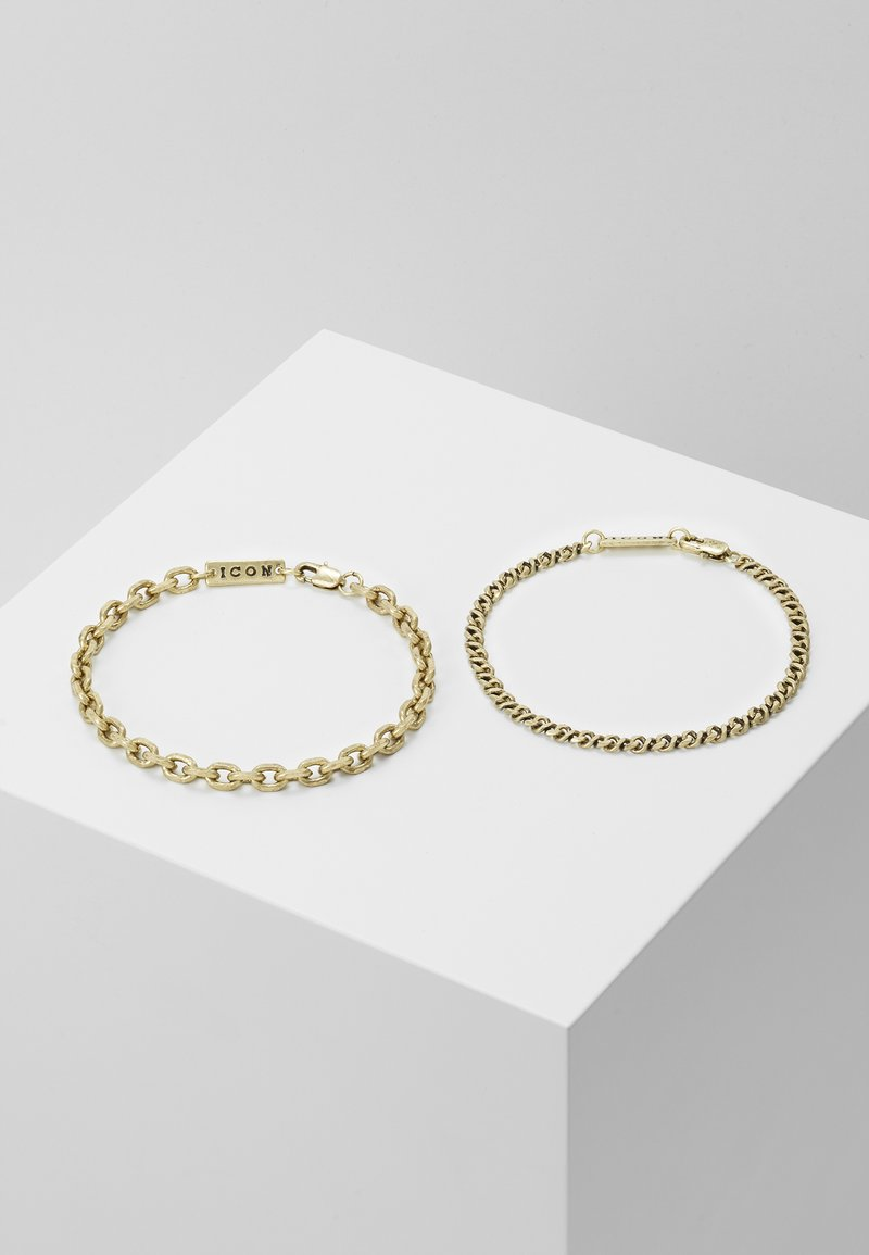 Icon Brand - GRAHAM COMBO 2 PACK  - Bracciale - gold-coloured