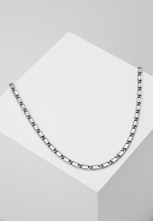 CARLTON NECKLACE - Collana - silver-coloured