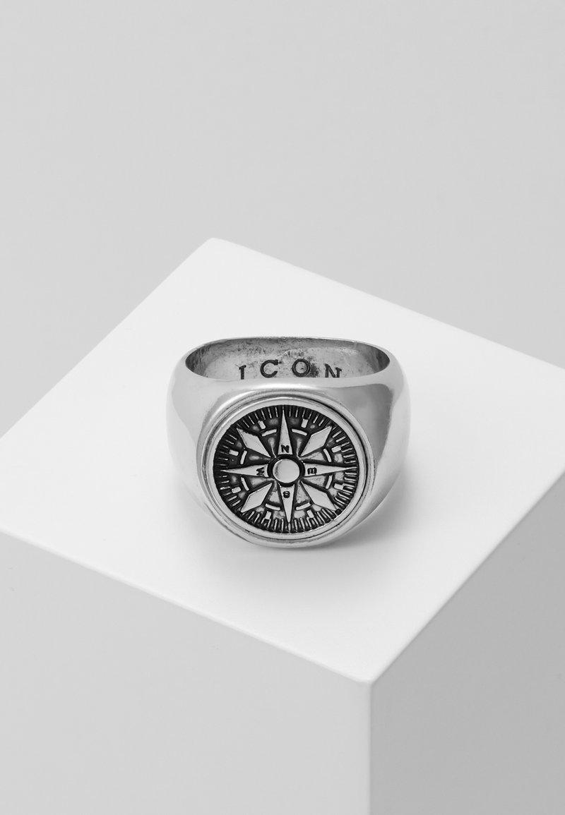 Icon Brand - VASCO SIGNET - Anello - silver-voloured