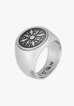 VASCO SIGNET - Ring - silver-voloured