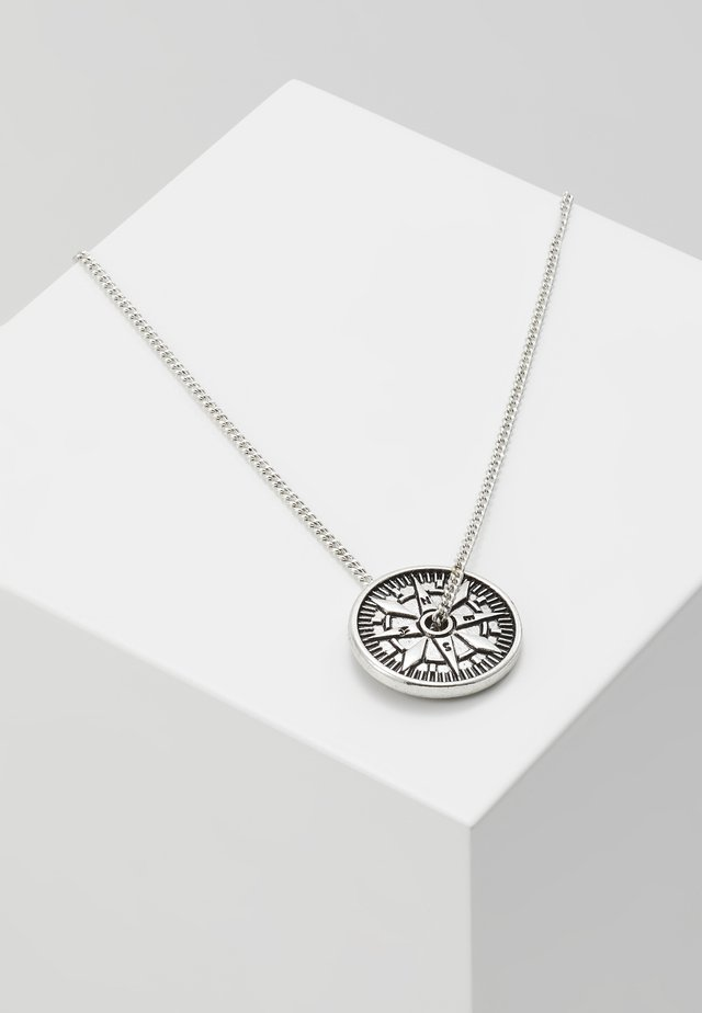 VASCO PENDANT - Necklace - silver-coloured