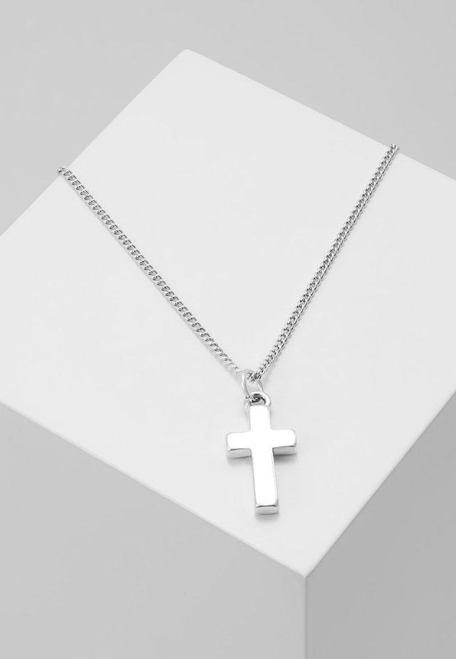 SANTI PENDANT - Halsband - silver-coloured