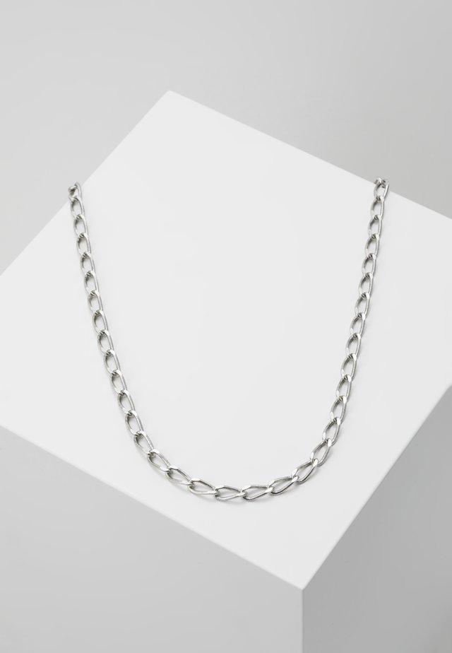 STEWART NECKLACE - Naszyjnik - silver-coloured