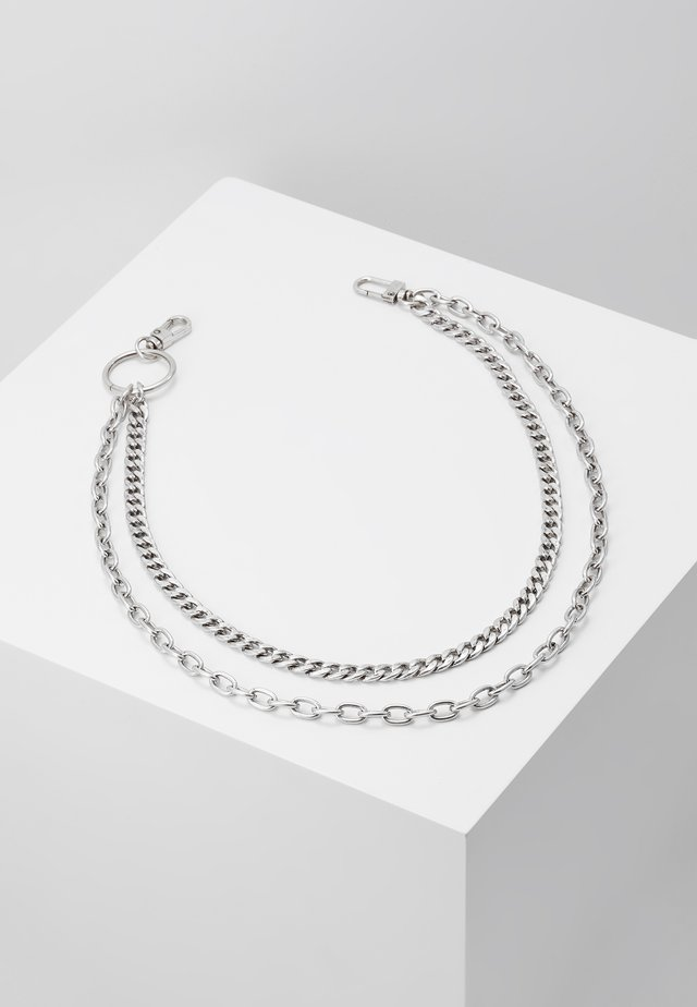 DROP WALLET CHAIN - Muut asusteet - silver-coloured