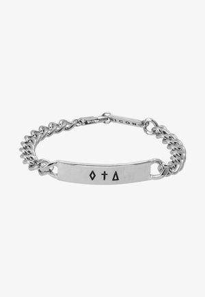 BAR CHAIN BRACELET - Bracelet - silver-coloured