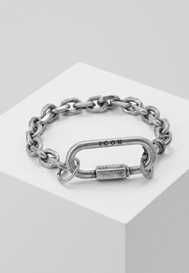 STARK BRACELET - Armband - silver-coloured