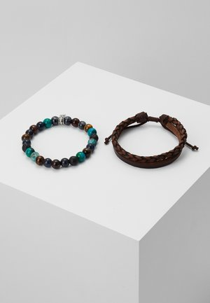 OUTLIVE 2 PACK - Armband - brown