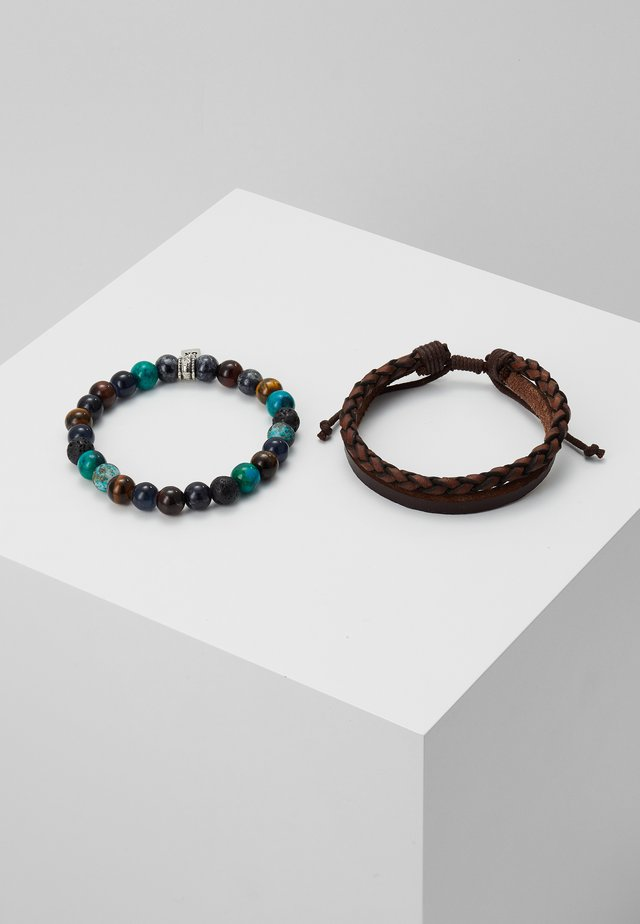 OUTLIVE 2 PACK - Bracelet - brown