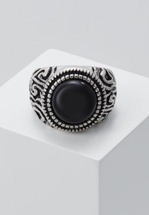 ELABORATE ROUND SIGNET - Anello - silver-coloured