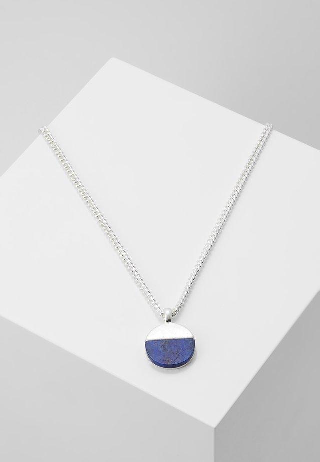 HALF MOON NECKLACE - Halskæder - silver-coloured