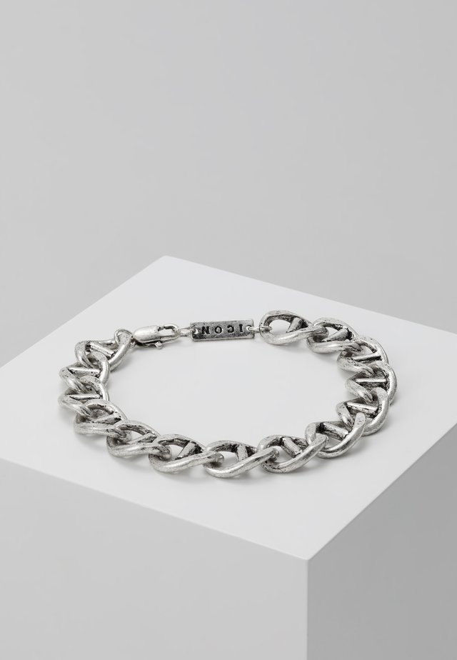 RAW BRACELET - Bracelet - silver-coloured