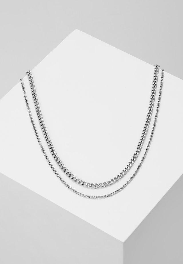 MODULE NECKLACE - Náhrdelník - silver-coloured