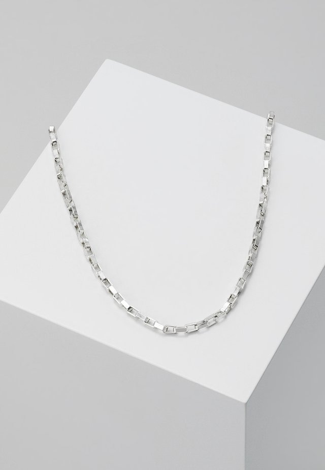 ALPHA NECKLACE - Collana - silver-coloured