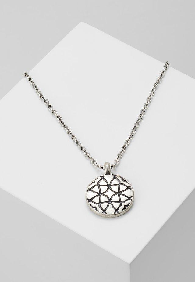 ARTISINAL EAST PENDANT NECKLACE - Náhrdelník - silver-coloured