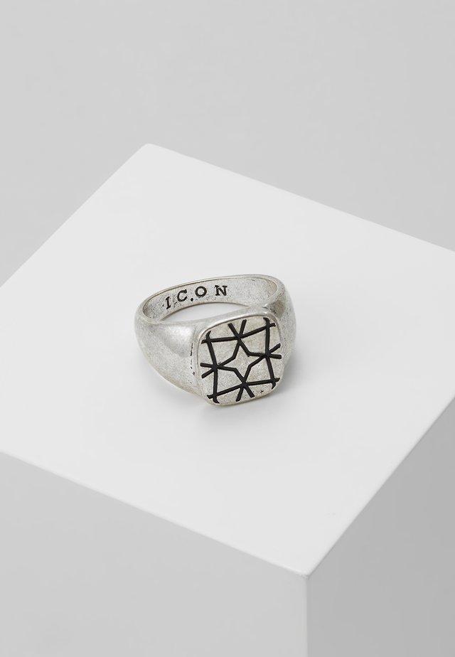 ARTISINAL EAST SIGNET - Ring - silver-coloured