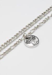 Icon Brand - STREET SAFARI MULTI ROW NECKLACE - Collana - silver-coloured - 2
