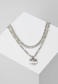 Icon Brand - STREET SAFARI MULTI ROW NECKLACE - Collana - silver-coloured - 0