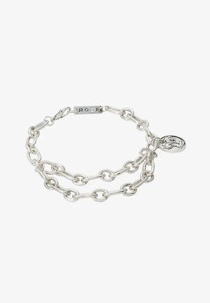 STREET SAFARI CHAIN BRACELET - Armband - silver-coloured