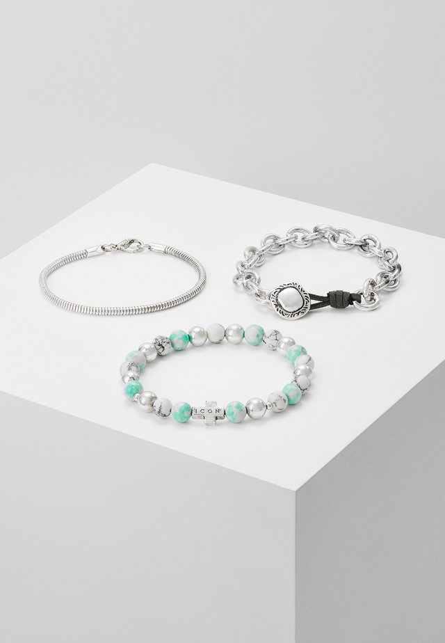 NEO BRACELET - Bracelet - silver-coloured