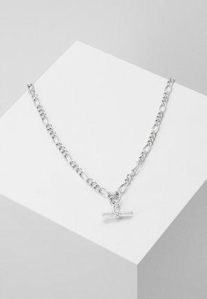 LOUCHE TAILORING T-BAR NECKLACE - Collana - silver-coloured