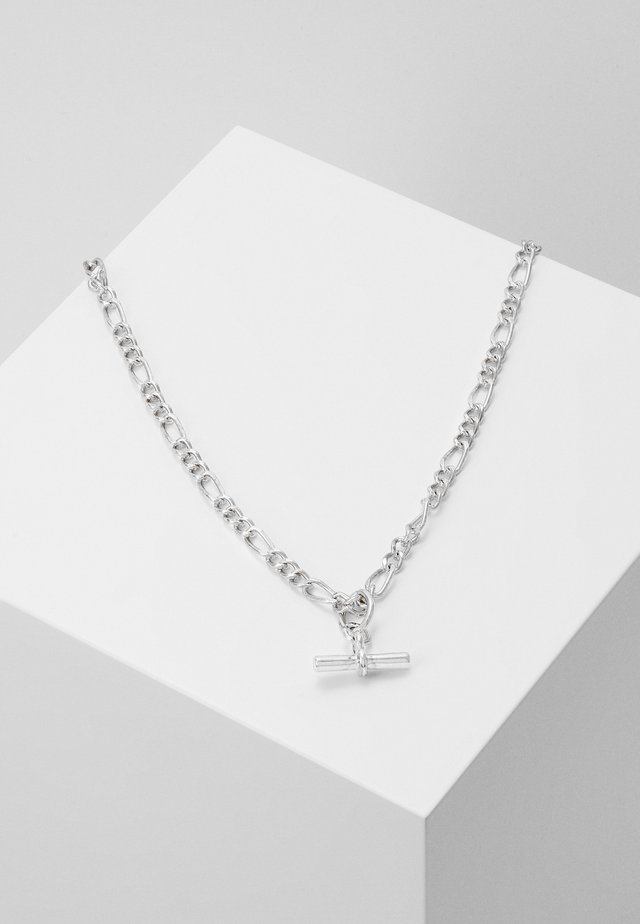 LOUCHE TAILORING T-BAR NECKLACE - Collier - silver-coloured