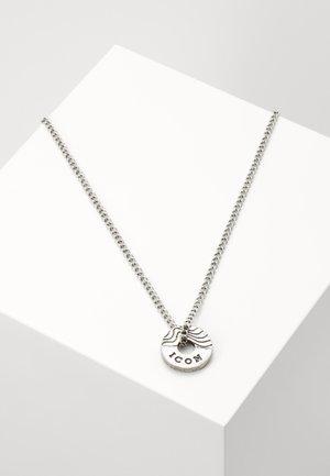 CONTOUR NECKLACE - Náhrdelník - silver-coloured