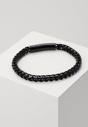 FACET CHAIN BRACELET - Armband - black